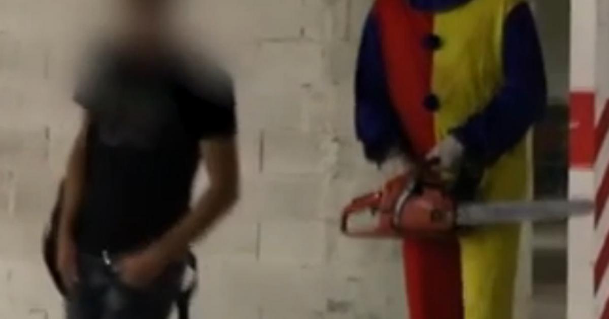 Clown-prank