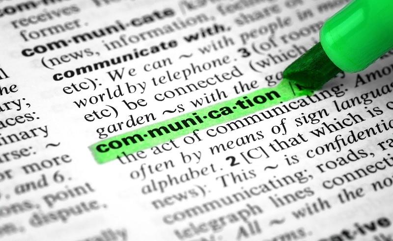 Communicate - Dictionary