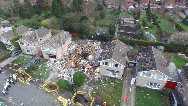 PAY-Aerial-view-of-the-house-in-York-which-exploded-in-a-gas-blast