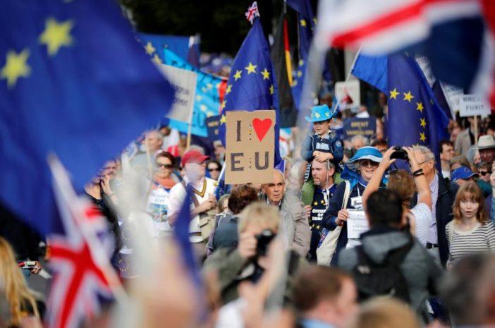 brexit tüntetés