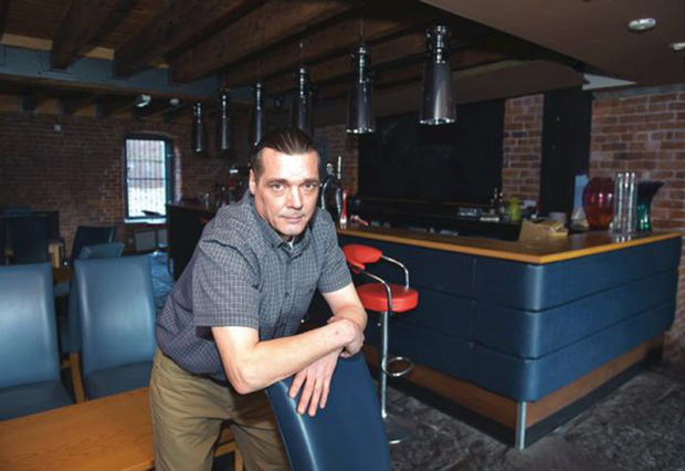 Colin Davies opening a cannabis cafe on Tariff St in Manchester.