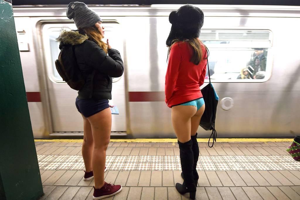 nadrág nélküli metrózás napja 1