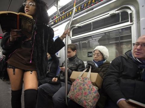 nadrág nélküli metrózás napja 8