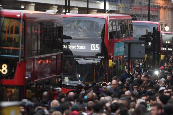 london metrósztrájk